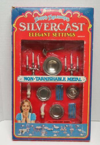 1978 Terris Treasures Silvercast Elegant Settings, #7991-B, New, Open box