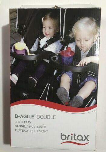 Britax B-Agile Double Stroller - Snack Tray - NEW