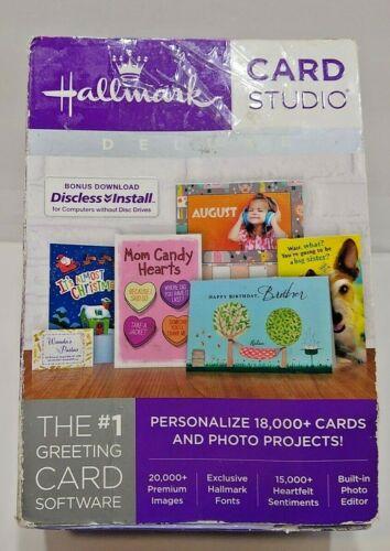 Hallmark Card Studio Deluxe 2018