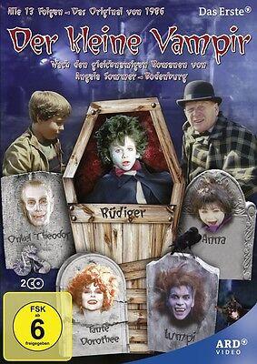 Der kleine Vampir: Komplette Serie * NEU OVP * 2 DVDs * Alle 13 Folgen von 1986