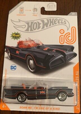 2020 Hot Wheels From L ID Chase 1966 Tv Batmovile USA Carded Mint Both