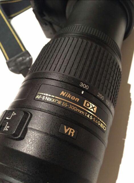 Nikon 55-300 mm F/4.5-5.6 AF-S VR DX G ED Zoom Objektiv Nikkor