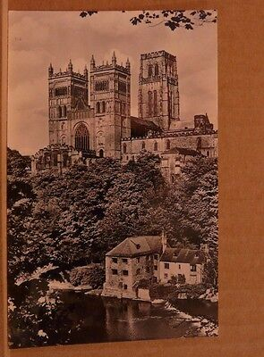 Unposted Postcard Durham Cathedral from the south west