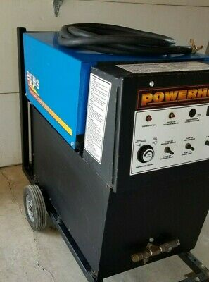 Epps Powerhouse Hot Water Pressure Washer Model 3550p-72 460volt 3 Phase 3000psi