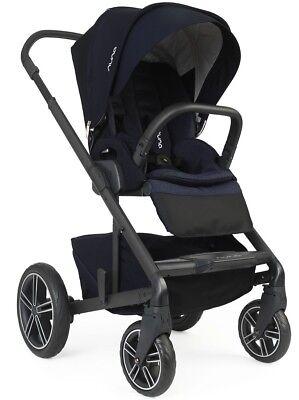 Nuna Baby Mixx2 Compact One Hand Fold Single Stroller Indigo w Rain Cover Mixx - Indigo Stroller