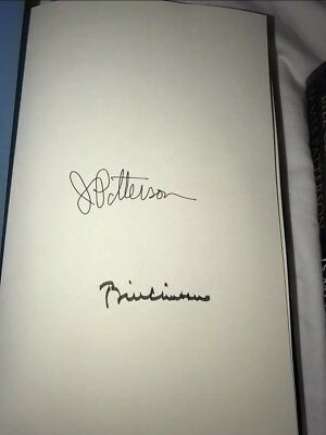 Bill Clinton   James Patterson Signed The President Is Missing Book Autograph