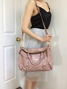 Authentic miu miu pink rosa bow bag $1780 USD