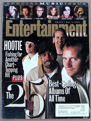 Entertainment Weekly 325 May 3 1996  25 Best Selling Albums Of All