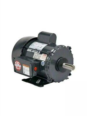 2 Hp Electric Motor Single Phase Farm Duty 1800 Rpm U.s. Motor 58 Shaft
