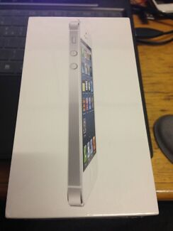 NEW CONDITION!!! Iphone5 16gb white Sydney City Inner Sydney Preview