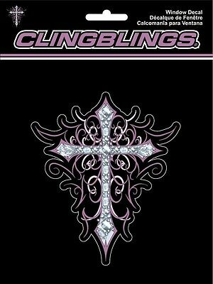 CHROMA CLING BLING CROSS DECAL 001123 (X8494)