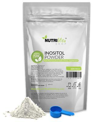1 1Lb  500G  100  Pure Inositol Powder Pharmaceutical Grade Mood Stress Anxiety