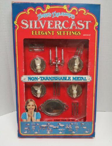 1978 Terris Treasures Silvercast Elegant Settings, #7991-C, New, Open box