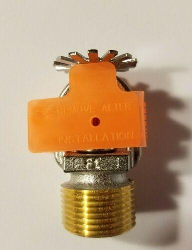 """RASCO Reliable F1FR 3/4"""" NPT Pendent Sprinkler Head Chrome 8.0K 155F"""