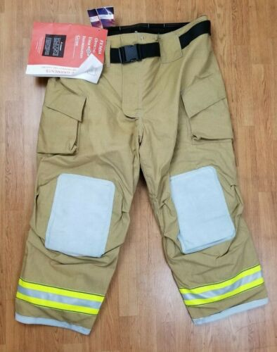 Cairns MFG. 2015 NEW Firefighter Turnout Bunker Pants 50 x 30
