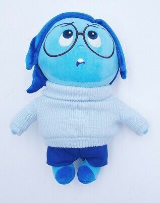 Pixar Disney Store Inside Out Sadness Plush Doll Toys Kids Blue Great Condition