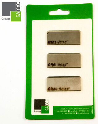 New Moulding Knives Kit Of 3 Back Relief 2 Woodmaster Compatible 1053