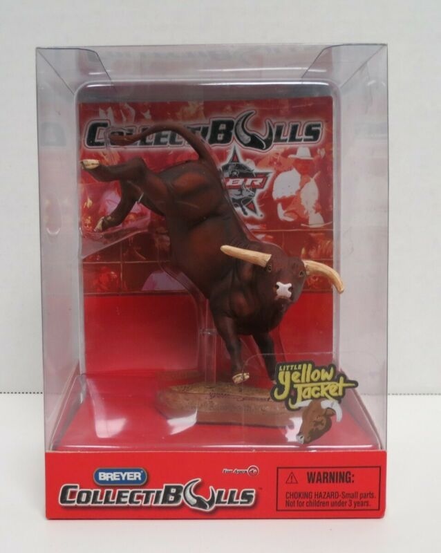 BREYER PBR COLLECTIBULLS LITTLE YELLOW JACKET NEW IN BOX