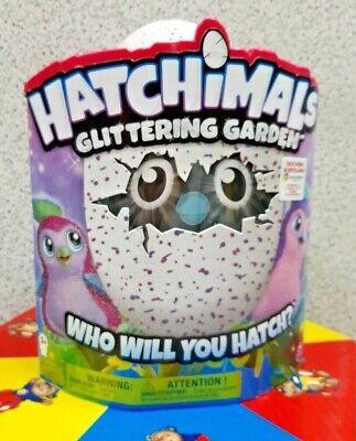 Hatchimals Pinguino Glitter uovo rosa by Spin Master