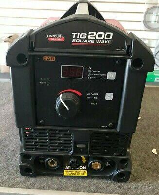 Lincoln Square Wave Tig 200 Tig Welder K5126-1
