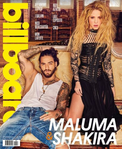 SHAKIRA & MALUMA - Billboard Argentina Magazine MAY  2018