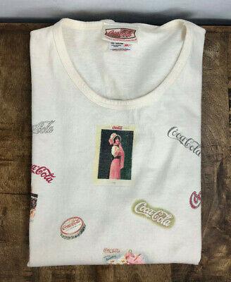 Vintage Coca Cola Women's XL T-Shirt - Cracker Barrel - Short Sleeve