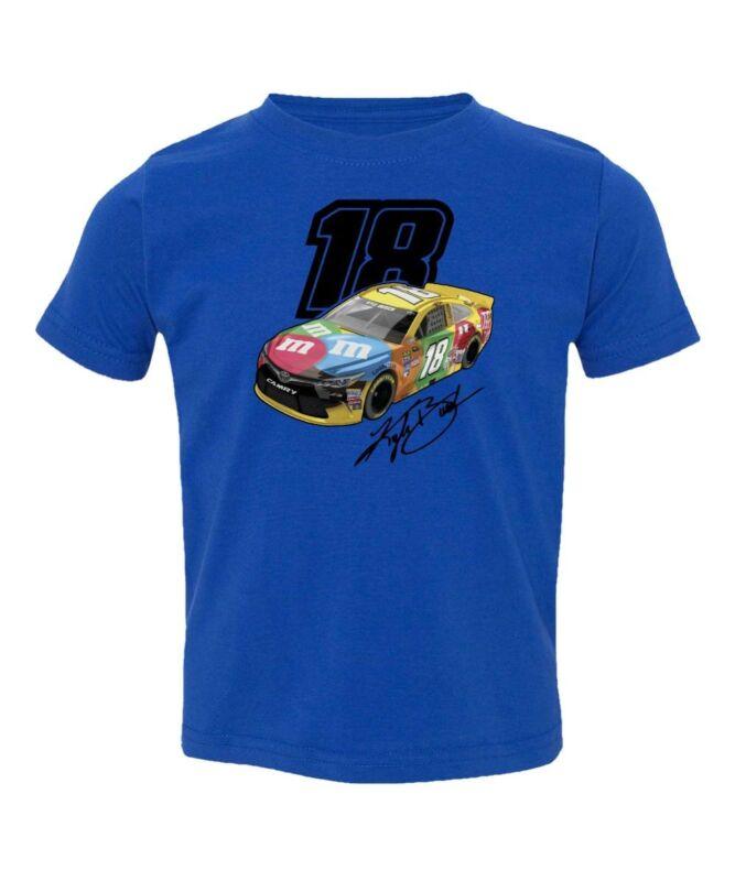 Nascar Kyle Busch Car Kids Toddler T-Shirt