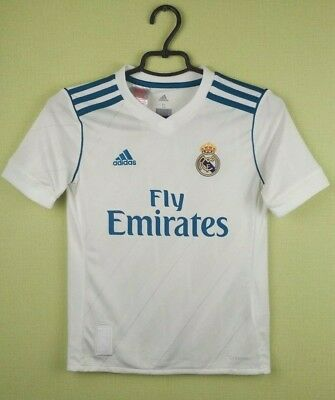 8a7c1b1eb Real Madrid kids jersey 2017 18 Home adidas shirt LUKAS 9-10 years   S   140
