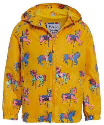Ages 5-6 Gray Unicorn Raincoat Color Changing Raincoat