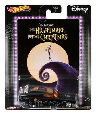 Hot Wheels 2020 Disney Classic Nightmare Before Christmas '59 Cadillac Funny Car