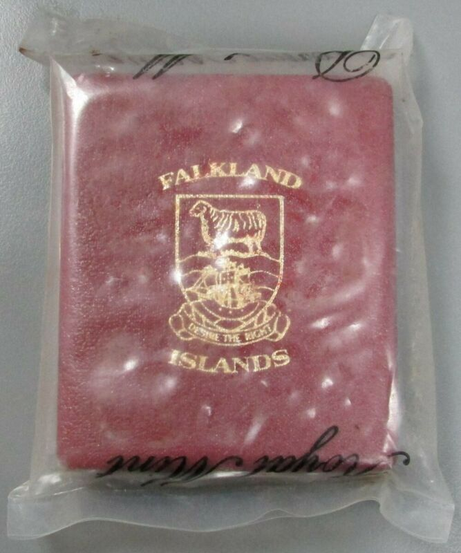 1985 SILVER FALKLAND ISLANDS £25 PROOF 4.6 OZ SELF SUFFICIENCY STILL MINT SEALED