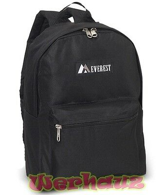 Everest Classic Basic Student Backpack, NEW for Kids or Adul