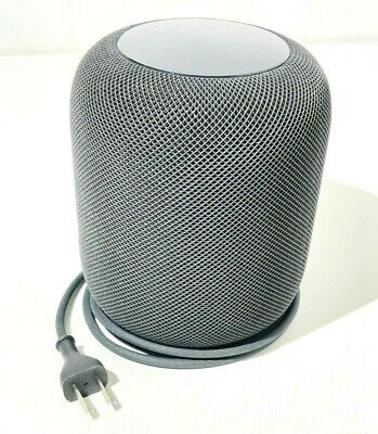 Apple HomePod Space Gray Bluetooth Wireless Smart Speaker A1639 MQHW2LL/A Works