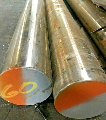 2-12 - Inconel 625 Round Bar 2.5 Diameter X 60 Long