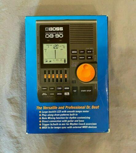 Boss DB-90 Dr. Beat Digital Metronome w/LCD Dispaly NEW Satisfaction Guaranteed