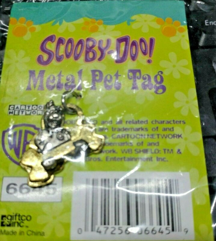 Scooby Doo Pet Tag Dog Tag  NIP GiftCo inc vintage 2005 freespip
