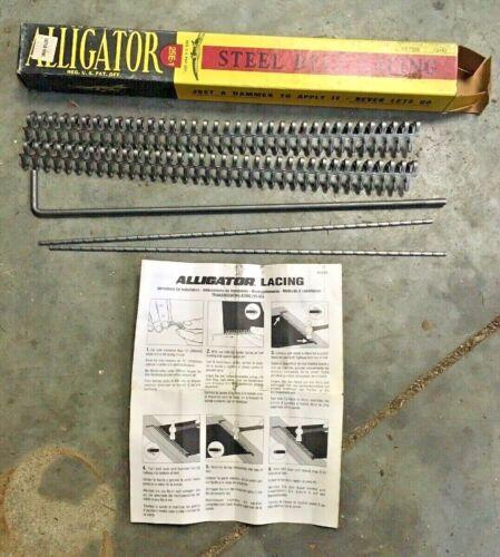 Alligator 25E-1 Flat Belt Lacing Kit 3/16-7/32 Hit Miss Engine Lathe Conveyor
