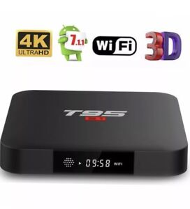 T95 Android box 2gb ram fully programmed