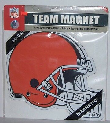 Fremont Die Nfl Car Magnets (NFL Cleveland Browns Large Team Car)