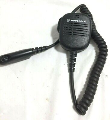 Motorola Hmn9052a Radio Speaker Microphone
