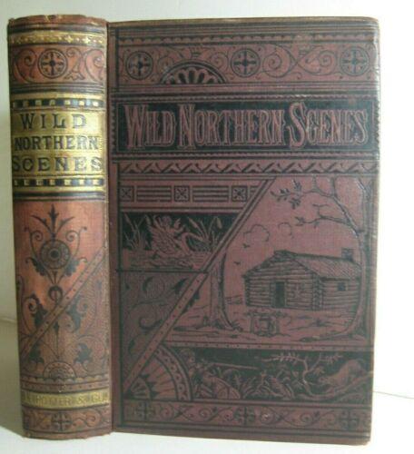 RARE🔥 WILD AMERICAN SCENES_FISHING_HUNTING_BUFFALO_SCENIC UNITED STATES IN 1863