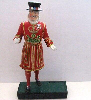 "Vintage Beefeater Gin 17"" Statue Bar Figurine Bottle Display!"