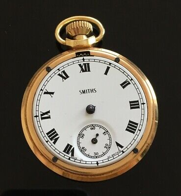 Vintage Smiths Made in Great Britain Pocket Watch