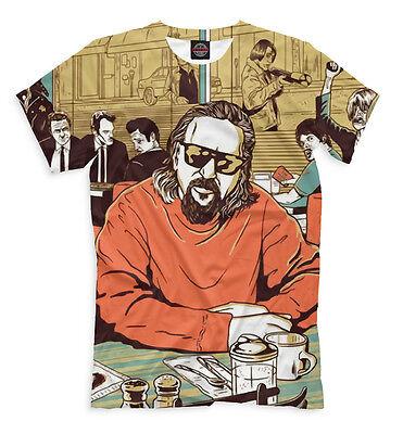 The Big Lebowski t-shirt - Jeff Bridges all over print tee gag fun clothes Big Lebowski Apparel