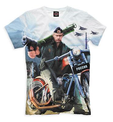 Vladimir Vladimirovich Putin Tee Shirt  Russian President T Shirt Clothes Russia