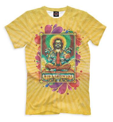 The Big Lebowski yellow t-shirt - Jeff Bridges full print tee gag fun clothes Big Lebowski Apparel