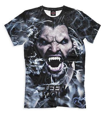 Teen Wolf art t-shirt American  TV series Scott McCall Tyler Posey