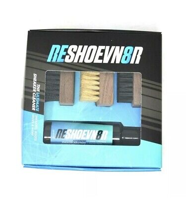 Reshoevn8r 4 oz 3 Brush Shoe Cleaning Kit NEW