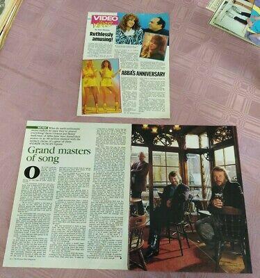 Lot of Rare ABBA Magazine Clippings, from Australian Magazines - 1980's.