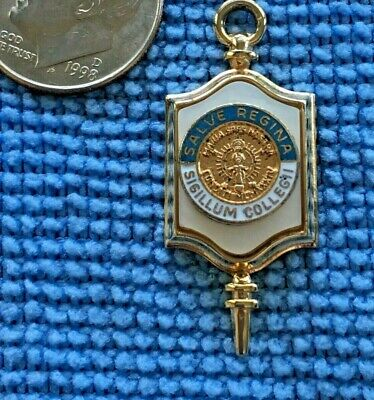 Salve Regina University college key pendant charm necklace jewelry key fob ()